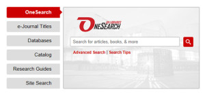 Search is a snap with UH Libraries' improved find functions.