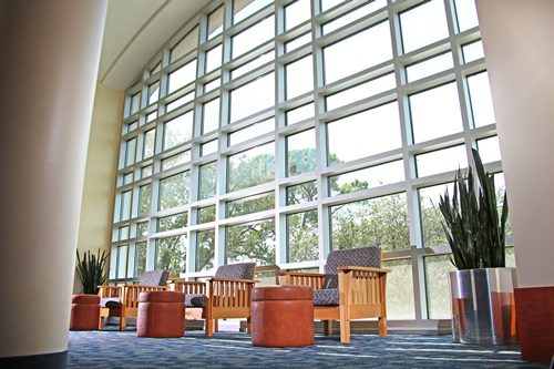 Regents Reading Room, MD Anderson Library, Second Floor Brown Wing