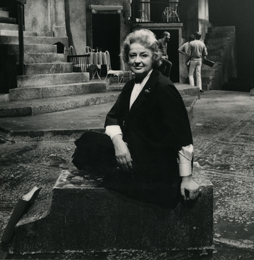 Nina Vance | Photo from the Nina Vance Alley Theatre Papers, UH Special Collections