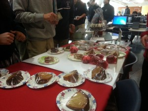 University of Houston Libraries Bundt Cakes for Charity
