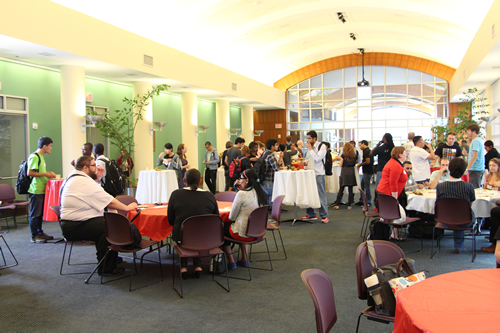 The Graduate Student Mixer at the University of Houston Libraries