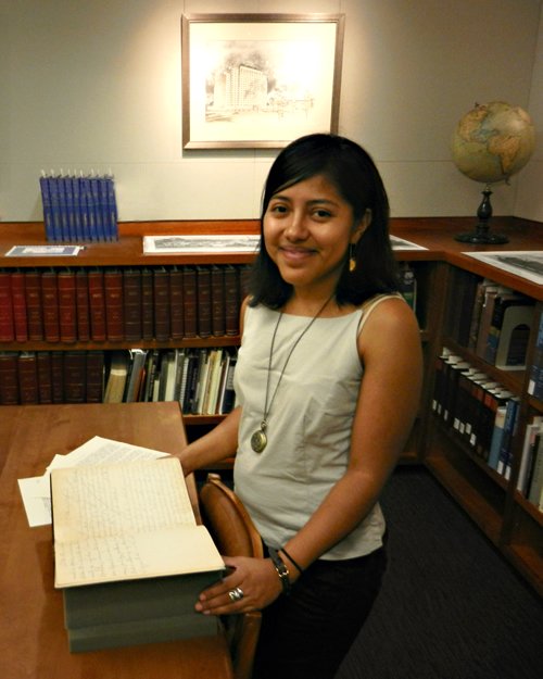 Lisa Cruces has been awarded an IMLS-RBS Fellowship for Early-Career Librarians.
