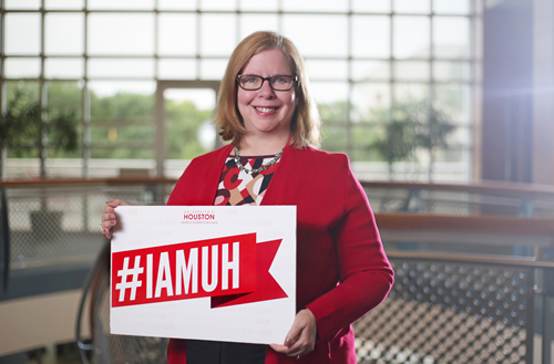 #IAMUH because diversity and inclusion are values embraced by me, by our University Libraries, and by our wonderful university.
