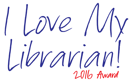 I Love My Librarian 2016 Award