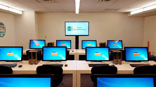 Technology Training has moved to 106-P in the MD Anderson Library.