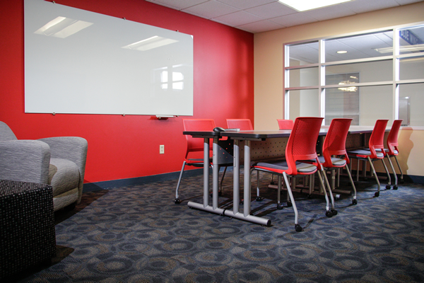 Newly revamped group study rooms are now open in the MD Anderson Library.