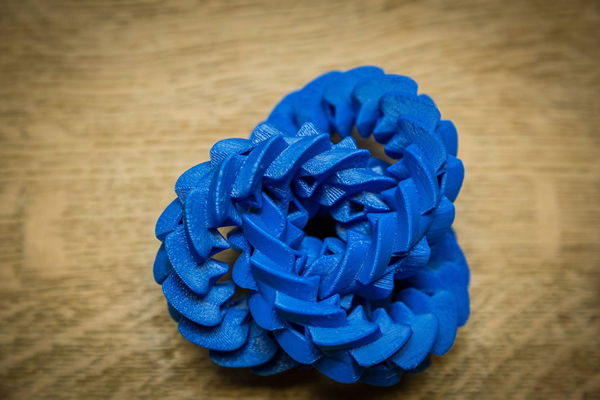 3-D depiction of mathematical models created at Texas Tech