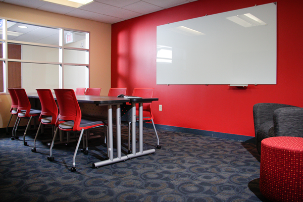 Newly revamped group study rooms are now open.