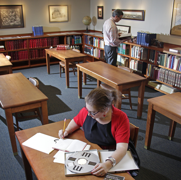 All are welcome to visit the UH Special Collections Reading Room.