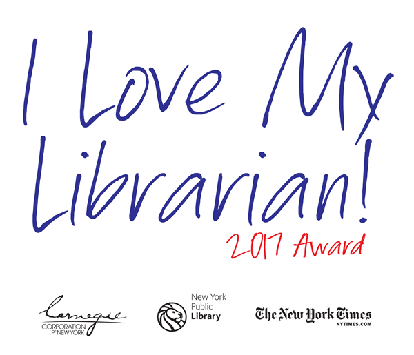 Nominate a UH librarian for the 2017 I Love My Librarian Award.