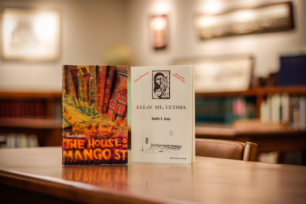The House on Mango Street and Bless Me, Ultima, two banned books available for research in UH Special Collections.