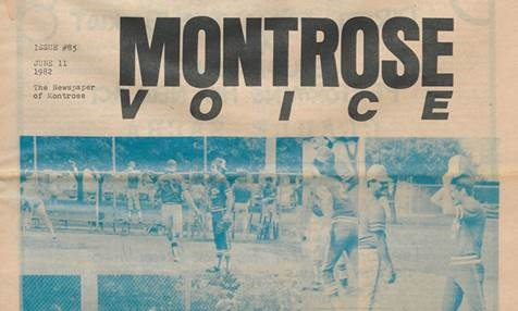 The Montrose Voice digital collection is now available in the UH Digital Library.
