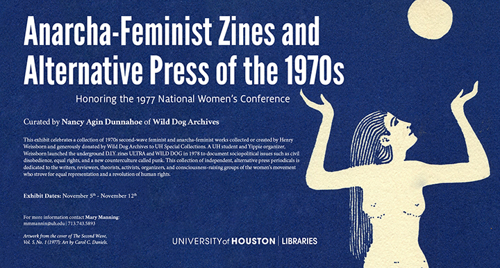 Anarcha-Feminist Zines and Alternative Press of the 1970s