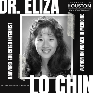 Picture of Dr. Eliza Lo Chin, Harvard Educated Internist, Author on women in medicine, Diversity in Healthcare