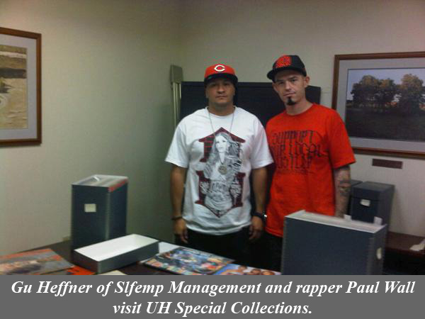Gu Heffner and Paul Wall photo