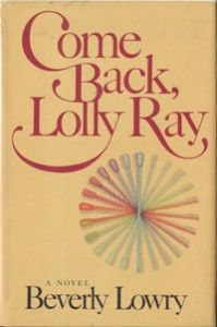 Cover of Lowry novel