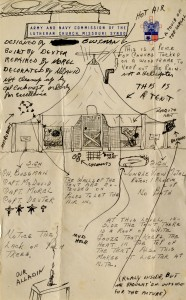 Sketch of facilities, undated