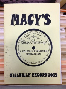 Brown TX Music Collection Macy's Recordings