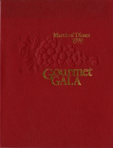 1979 March of Dimes Gourmet Gala
