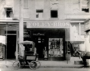 Foley Bros. on Main St. (1906)