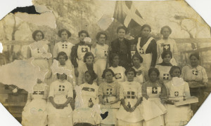 Leonor and ladies of Cruz Blanca 1st brigade