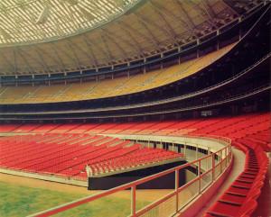 Astrodome interior