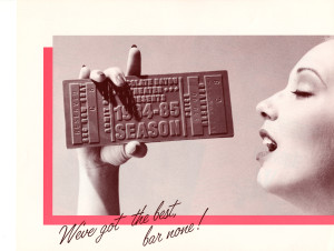 Chocolate Bayou Theater Co. promotional mailer, 1984-85 season