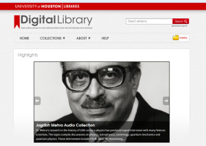 a quick peak behind the curtain of the new UH Digital Library website