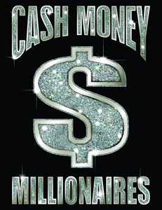 Cash Money Millionaires, logo artwork