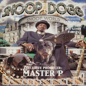 Snoop Dogg, Da Game is to Be Sold, Not Told, poster flat