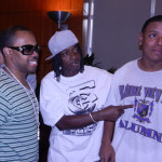 DJ Lil' Randy of the Screwed Up Click, DJ Wickett Crickett - one of the first to bring hip hop to Houston, and poet Se7en.