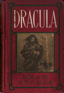 cover of 1902 printing of Dracula by Bram Stoker