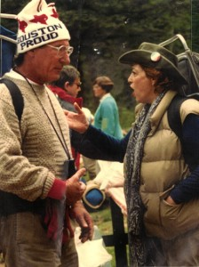 photograph of Harriet Joan Ehrlich in conversation