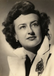 portrait of Nina Vance, from the Nina Vance Alley Theatre Papers