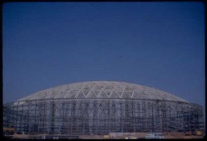 Astrodome, from the Elizabeth D. Rockwell Papers, University of Houston Libraries' Special Collections