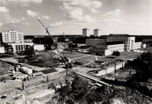 Philip G. Hoffman Hall Construction [UH Photographs Collection]