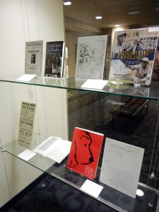 a new rotating, mini-exhibition of publications and projects produced in conjunction with research from the University of Houston Special Collections is now on display