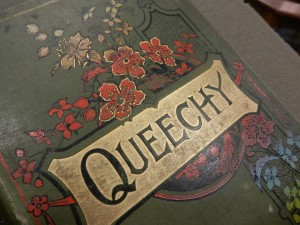 cover of Queechy / by Elizabeth Wetherell (Susan Warner)