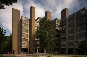 Louis I. Kahn, Richards Medical Research Building, University of Pennsylvania (Photo, Richard Anderson)