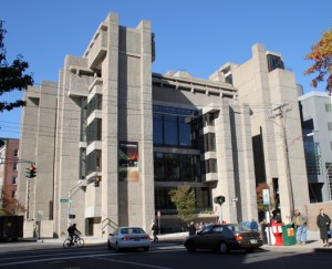 Paul Rudolph, Yale Art & Architecture Building (Photo Sage Ross, Common License)