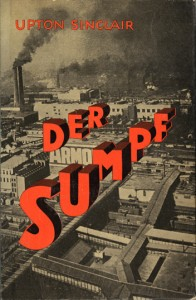 cover of Der Sumpf (or The Jungle) by Upton Sinclair (1926)