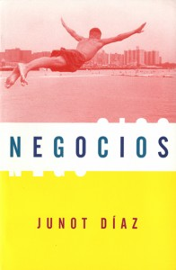 cover of Negocios by Junot Díaz (1997)