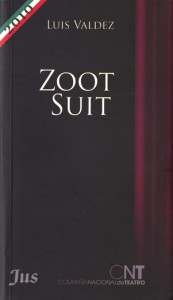 cover of Zoot Suit by Luis Valdez (2010)