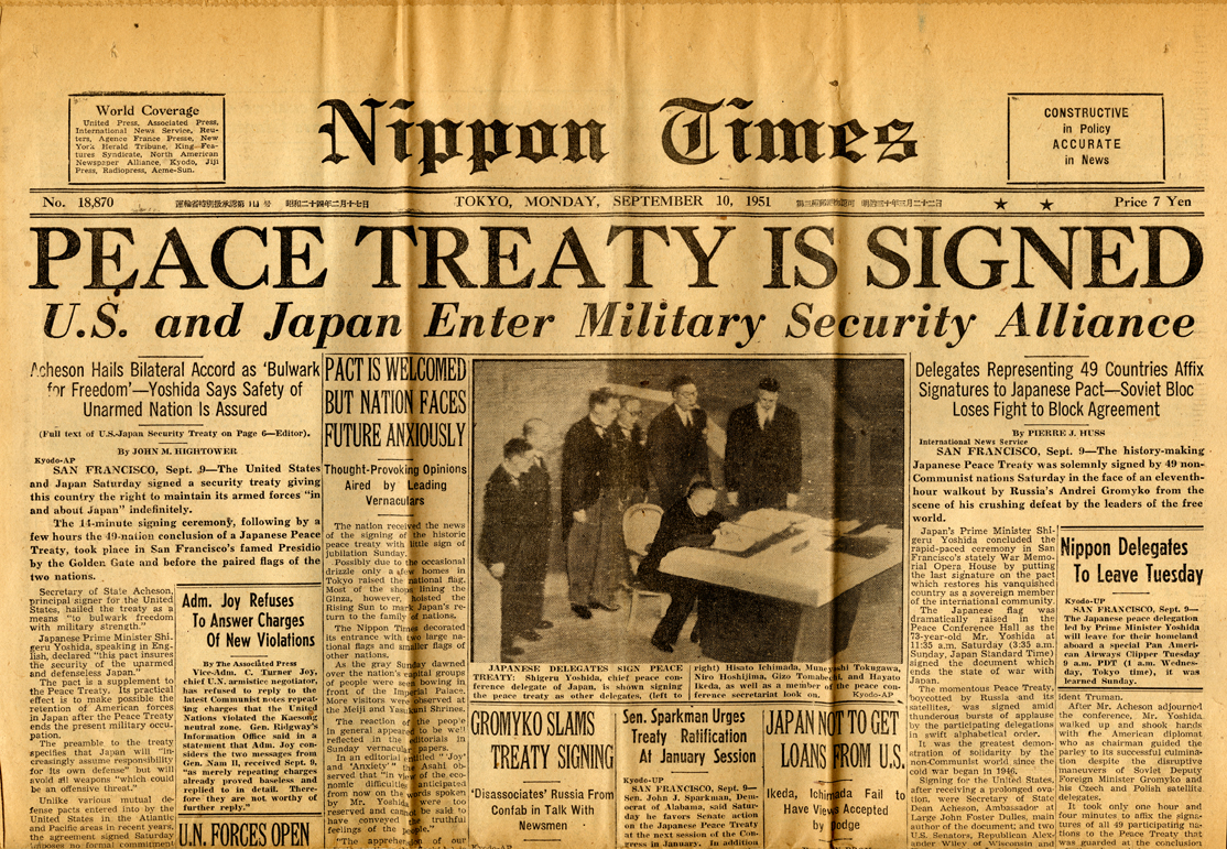 Japan is working on a peace treaty with Russia 11/18/2016 45