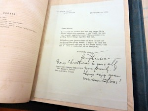 extra-illustrated: as part of the rebinding process, inserted and included is this hand-signed letter from Harry Truman to Maury Maverick (December 21, 1951)
