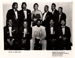 promotional photograph for the B.B. King Unit (Texas Music Collection)