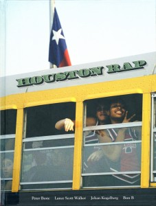 Cover of Houston Rap by Peter Beste and Lance Scott Walker