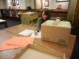 Shelby Love, UH Special Collections Social Media Internship (Spring 2015)