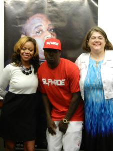 Meshah Hawkins, Lil' Keke, and Julie Grob