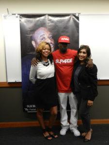 Meshah Hawkins, Lil' Keke, and Sarah Syed